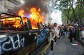 Fuera de control, protesta en Jalisco por asesinato de Giovanni López