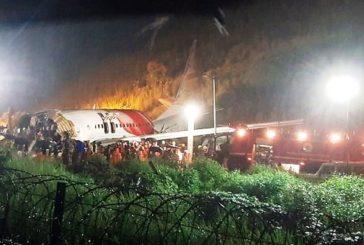 Al menos 14 muertos y 15 heridos en aterrizaje de emergencia en India