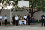 Despiden con honores al comandante José Abel Hernández Sesma de la policía vallartense