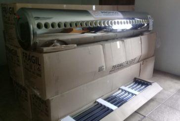 Red Me Uno entregan calentadores solares a albergue
