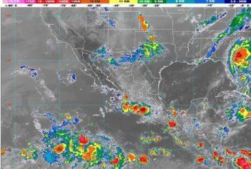 Este lunes 3 de agosto, se pronostican lluvias muy fuertes para Jalisco, Nayarit y Colima