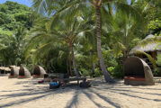 Un nuevo concepto de club de playa en medio de la naturaleza