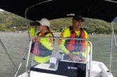 Busca personal de Protección Civil a cocodrilo en lago de Chapala
