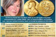 Otorgan Nobel de Literatura a la poeta estadounidense Louise Glück