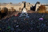 Miles protestan en Francia contra ley de seguridad y violencia policiaca