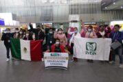 Llegan brigadas médicas del IMSS a CdMx para apoyar en combate a pandemia