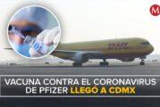 Vacuna anticovid de Pfizer llega a México
