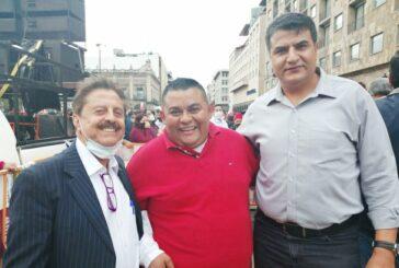 Demuestra Rocky Santana compromiso y lealtad al proyecto nacional de AMLO