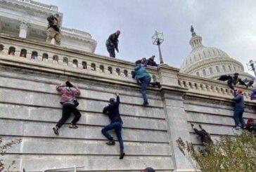 Agitadores de Trump toman el Capitolio; hay toque de queda en WA