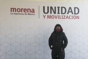 Es Silvia Radilla, pre candidata de Morena a la Diputación Federal
