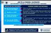 """Lanza UdeG campaña """"No te la pienses, vacúnate""""; iniciará en Puerto Vallarta"""