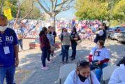 Comisión de búsqueda de personas de Jalisco brinda acompañamiento a integrantes de la Caravana Internacional de Búsqueda