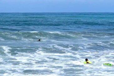 Rescatan a mujer de morir ahogada en la Riviera Nayarit
