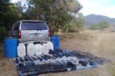 Ejército Mexicano asegura arsenal en Cabo Corrientes