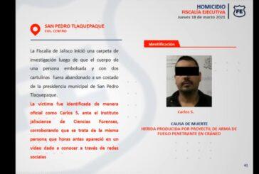 Cadáver abandonado en Tlaquepaque era de 'El Cholo'; lo entregan a sus familiares