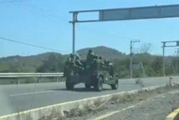 Pánico por enfrentamiento en Guayabitos