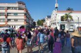 Marchan mujeres en Puerto Vallarta; exigen que la sociedad les repete
