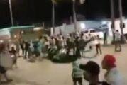 Captan a aficionados de Chivas haciendo destrozos en playas de Mazatlán