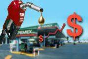 Registra ínfimo incremento el precio de la gasolina y diésel