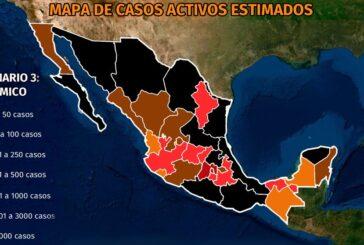 Mapa del coronavirus en México 10 de marzo: 866 muertes en un día y solo CDMX supera el 50% de ocupación hospitalaria intensiva