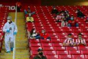 Alertan ante reapertura de estadios; pandemia, lejos de estar resuelta