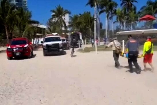Cae menor de parachute en Puerto Vallarta