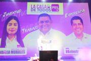 Oficializa el PES a Rocky Santana como su candidato para Vallarta