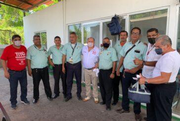 Acercará Tito Yerena enlace de la SCT a transportistas del aeropuerto