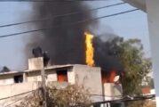 Familia prepara carnitas y provoca incendio en Naucalpan