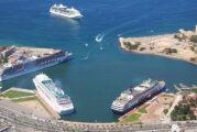 Pernoctan cruceros en Vallarta, pero sin turistas