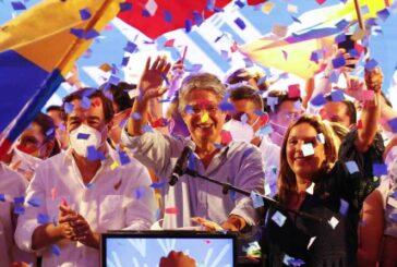 Guillermo Lasso gana Presidencia en Ecuador