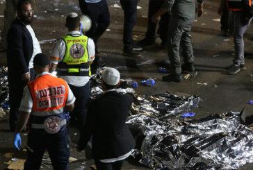 Estampida judía en Israel deja más de 40 muertos