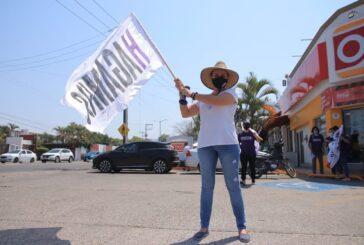 Con la fuerza de la juventud, arranca campaña Marina de los Santos