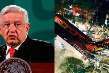 AMLO explica por qué no ha visitado a heridos por desplome en Línea 12