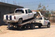Encuentran otro vehículo robado, en el Coapinole