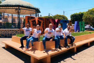 Apoyo al campo y la ganadería compromiso de Carlos Gerard en comunidades de Guachinango y Mixtlán