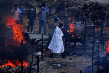 La India registra nuevo récord de muertes por COVID-19 en medio de la segunda ola