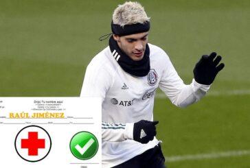 ¡Raúl Jiménez recibe el alta para volver a jugar! Aunque usará 'casco' toda su carrera