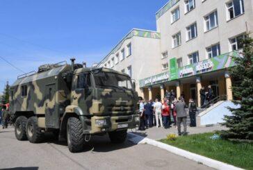 Reportan siete niños muertos y 21 heridos tras tiroteo en una escuela de Rusia