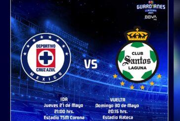 Final de la Liga MX: listos los horarios para el partido Cruz Azul vs Santos