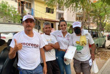 Colonia Emiliano Zapata respalda a Yussara Canales