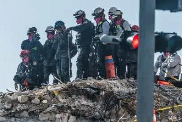 Actualizan cifra de muertos por derrumbe de edificio en Florida