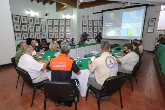 Autoridades dan seguimiento a la Tormenta Tropical 'Dolores'