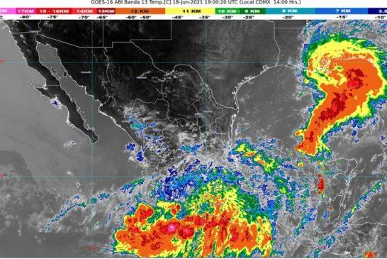 """En alerta autoridades de PC ante la tormenta tropical """"Dolores"""""""