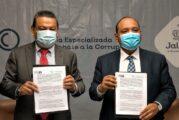 Estrecha Fiscalía Anticorrupción colaboración con Derechos Humanos