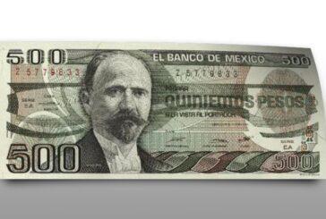 Este billete antiguo de 500 pesos se cotiza en línea hasta en 15,000 pesos