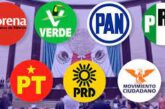 ¿Cuántos candidatos y de qué partidos no realizaron reportes de gastos de campaña ante el INE?