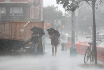 Las impactantes imágenes de Nueva York bajo el agua