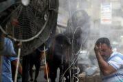 'Arde' Irak a más de 50 grados a la sombra y sin electricidad