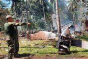 Sube a 50 la cifra de muertos por accidente de avión militar en Filipinas